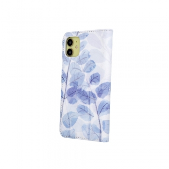 Pokrowiec Smart Trendy Frozen Leaves 3 do Samsung A21S